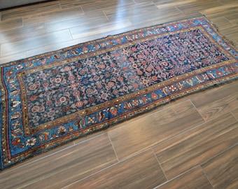 Antique Persian Rug Runner - 4x10