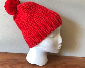 Handmade Pom Hat