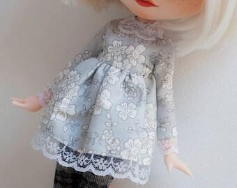 blythe clothes set (dress, leggings)