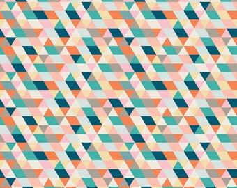 1 Yard Ava Rose by Deena Rutter for Riley Blake Designs-  5871 Multi Geometric