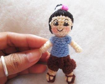 thai doll crochet : thai dolls,dolls thail,crochet,handmade,keychain,dolls,design,yarn,cotton,wedding,gift,girl dolls, hanging,bancrochet