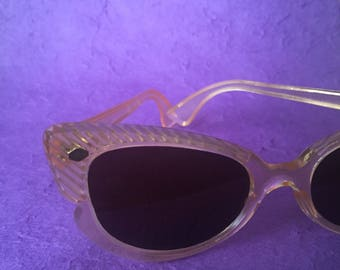 50s lucite Cat Eye Sunglasses