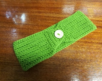 Winter Headband/Ear Warmer (Green)