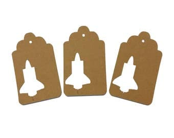 Space Shuttle Gift Tags