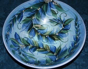 Gwili Classic Blue Bowl