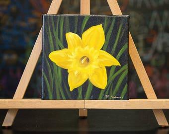 Daffodil (original oil painting)