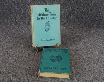 Set Of 2 Bobbsey Twins Books By Laura Lee Hope