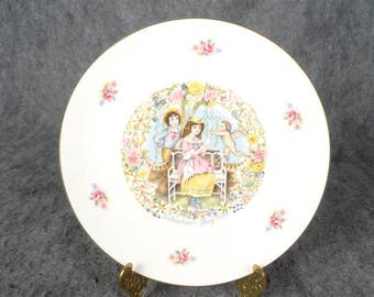 Royal Doulton Valentines Day 'Valentine Inspired By Cupd' 1977