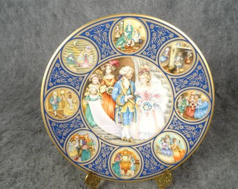 Franklin Mint 'The Cinderella Plate' By Pauline Ellison 1979