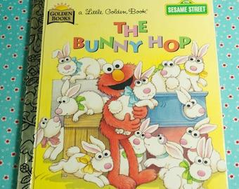 First Edition 1997 Little Golden Book Sesame Street The Bunny Hop