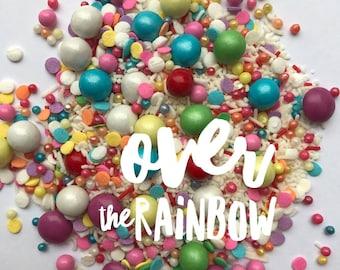 ON SALE Over the Rainbow Sprinkle Mix, Sprinkle Medley, Australia,
