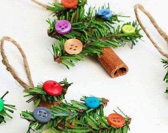 Cinnamon Christmas Tree Ornament
