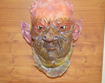Alan, the alien, from the planet Zargargan