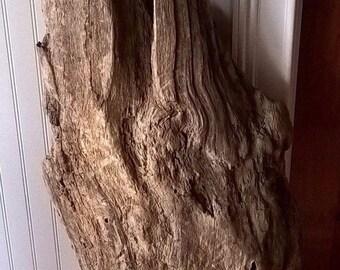 Driftwood Slab. Rustic Home Decor Wall Hanging Drift Wood Art Sculpture 842