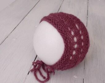 Bonnet Newborn photography handmade creations MADE IN ITALY 100%
