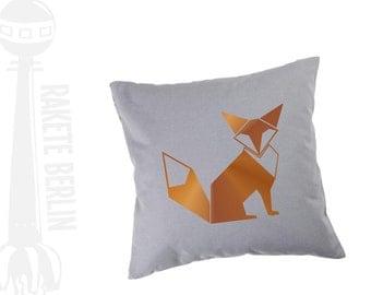 cushion cover   'Fox Origami'