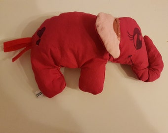 small plush elephant