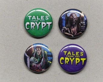 Tales From The Crypt - Pinback Buttons