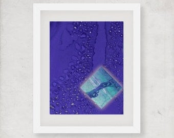 Purple art for wall, Quadri astratti, Art for print, blue print pdf, Office artwork, Abstract poster art, digital download art, aussie