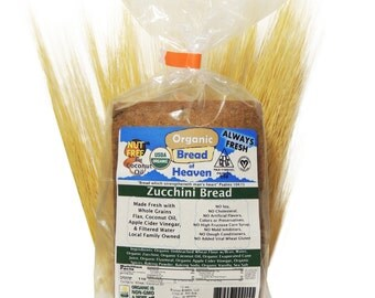 Organic Zucchini Bread - 12 oz Loaf