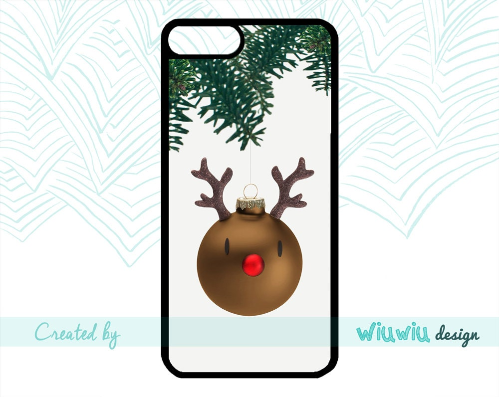 Christmas tree decor Winter deer Rudolph the red-nosed reindeer ...