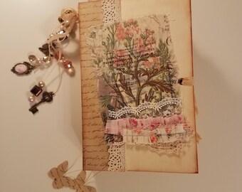 Vintage Junk Journal, Diary, Journal, Smashbook