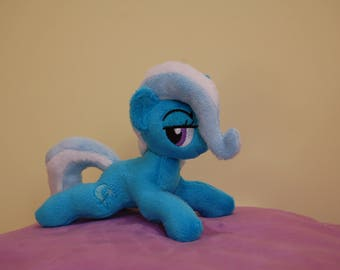 Great and powerfull Trixie [micro-pony handmade minky mlp plush toy]