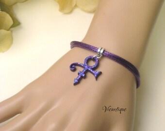 Prince Tribute Bracelet, Prince Bracelet, Prince Symbol Bracelet, Prince The Artist,  Prince Love Symbol,  Prince Jewelry