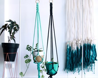 Thick Rope Macrame Plant Hanger
