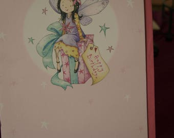 Girl's You're 6 Today  Birthday Card