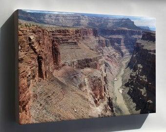 Canvas 24x36; Grand Canyon Toroweap 5