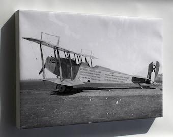 Canvas 16x24; Curtiss Jn-4 Jenny P2