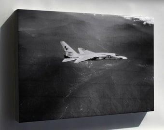 Canvas 16x24; Navy Ra-5C Vigilante  (Rvah-13) Bats In Flight 1966 P3