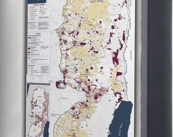 Canvas 16x24; Israeli Settlements On The West Bank, Israel, January 2006