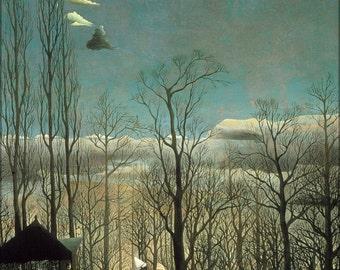16x24 Poster; Henri Rousseau A Carnival Evening