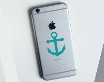 Anchor Apple iPhone Decal