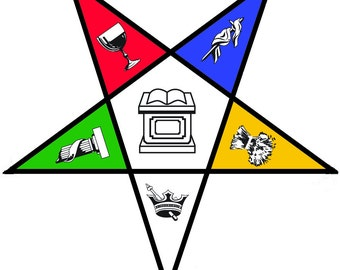 Eastern Star SVG, Cricut SVG File, Freemasonic, Freemason, Sorority, Fraternity, OES, Order of the Eastern Star