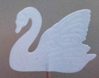12 Schwäne Cake Topper, wedding, hochzeit, topper, fest decko, swan, swan topper, hochzeit decko, wedding decko, wedding topper,