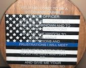 Thin Blue Line/ Bourbon B...