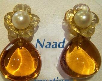 PROMOTION! 18 carat gold honey drops