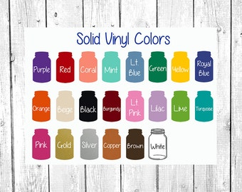 oracal 651 10 sheets of 12 x 12 glossy outdoor vinyl silhouette cameo cricut vinyl decals hobby cutter decals adhesive vinyl bulk - Cricut Vinyl Colors