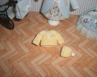 Miniature 1/12. Baby suit