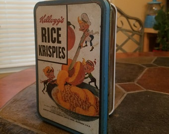 Rice Krispies Collectable Tin with 3 Ornaments