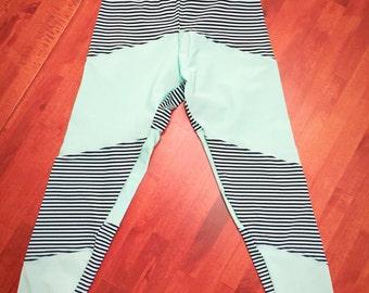 Rainbow Bubba 'Stripes' Leggings in Size 4