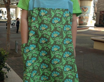 Origami Crossback Apron from Indygo Junction Pattern