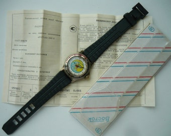 "Limited edition wostok Vintage wrist watch ""75 K3ЭП / Сделано в СССР"" / women's - men's Watch Wostok / Mechanical watch Soviet Union"