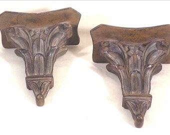 Traditional Decorative Wall Shelf A Pair