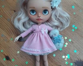 Blythe stripe dress