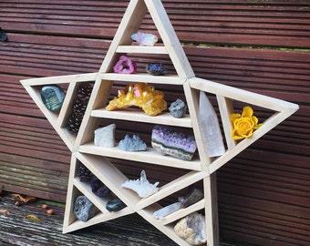 Pentagram Star Shelf