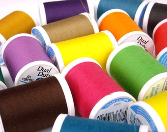 Coats & Clark Dual Duty Plus Sewing Thread 300 yards